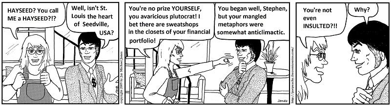 Avaricious plutocrat